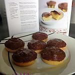 recette Petits gâteaux fourrés à la fraise et chocolat au lait