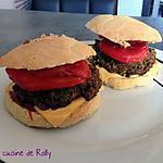 recette Burger végétarien avec des steaks de lentille
