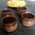 recette Crèmes au chocolat