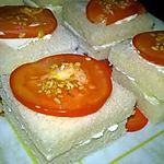 recette toasts de fromage frais et concombre