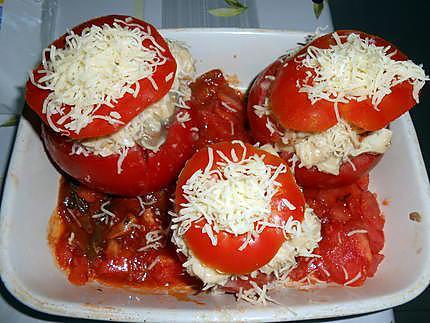 Tomates en vol au vent 430