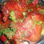 recette Jarret de porc a la sauce tomate