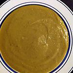recette Velouté de butternut, rutabaga, topinambour de mon mari