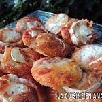 recette Minis pizzas chèvre