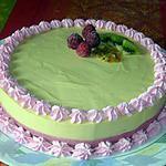 recette Bavarois Framboises et Fruits exotiques