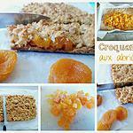 recette Croquants aux abricots