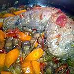 recette cuisse de dinde aux légumes