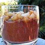 recette Verrines choco-poires