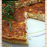 recette Tarte crabe/surimi