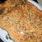 recette Fougasse aux herbes et parmesan
