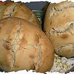 recette Ooo Petits pains au miel et pignons de pin ooO