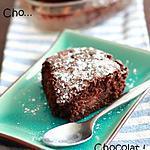 recette Gâteau fondant choco, coco, framboises sans beurre