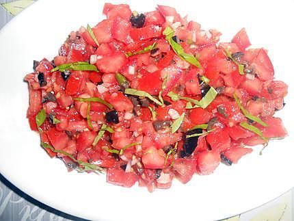 Tartare de tomates 430