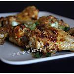 recette Ailerons de poulet rôtis au curry