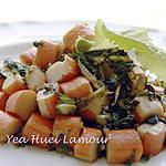 recette Surimi avec salade sauté