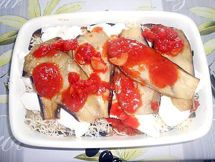 Gratin d'aubergines (parmigiana) 430
