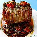 recette Roti d'agneau en cocotte au four