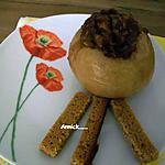 recette pomme au four  délice au pain d'épices