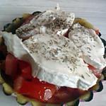 recette tartelette tomate/chèvre