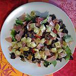recette salade folies régionales ( recette d' un petit restaurant super sympa)