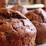 recette Muffins chocolat- pralin