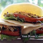 recette Sandwich à la vapeur (Sandwich Taïwanais)