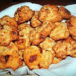 recette Cookies chorizo-tomates séchées. Idéal pour l'apéritif !