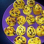 recette mini pain au raisin