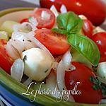 recette ~Tomates raisins et bocconcini~