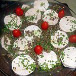 recette Salade de lentilles vertes du puy au cervelas