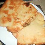 recette Naans au fromage