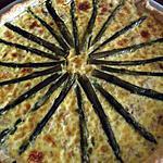 recette Quiche saumon-asperges