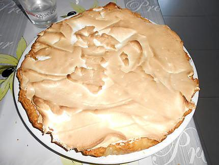 Tarte à l'orange meringuée 430