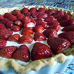 recette tarte aux fraises chantilly au chocolat blanc