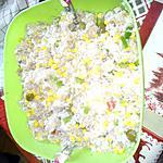 recette salade de riz basmati