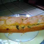 recette Cake aux poivrons, tomate, fromage de chevre
