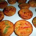 recette Muffins aux poivrons