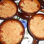 recette crumble aux peches