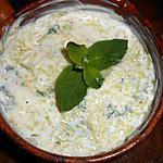 recette Raita concombre a la menthe