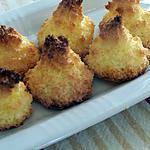 recette Rochers à la noix de coco
