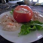 recette Panier de crabe mimosa