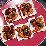 recette SUR LE POUCE ......CREVETTES SAUTEES FACON THAI