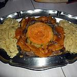 recette magret de canard au melon caramelisé