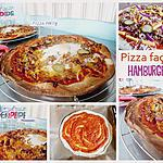 recette Pizza façon hamburger