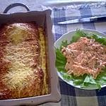 recette Pain perdu au fromage et salade de carottes