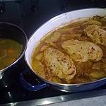 recette Escalopes de volaille aux pommes de terre confites
