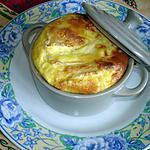 recette Flan de courgettes au camembert
