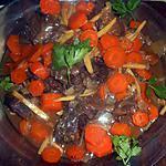 recette Joue de boeuf au gingembre