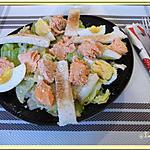 recette Salade césar de la mer
