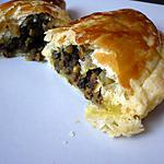 recette Chaussons aux lentilles et agneau épicés